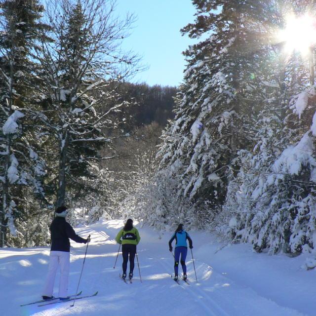 Esquí de fondo en la estación de Somport