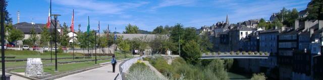 Parque Bourdeu en Oloron Santa-María