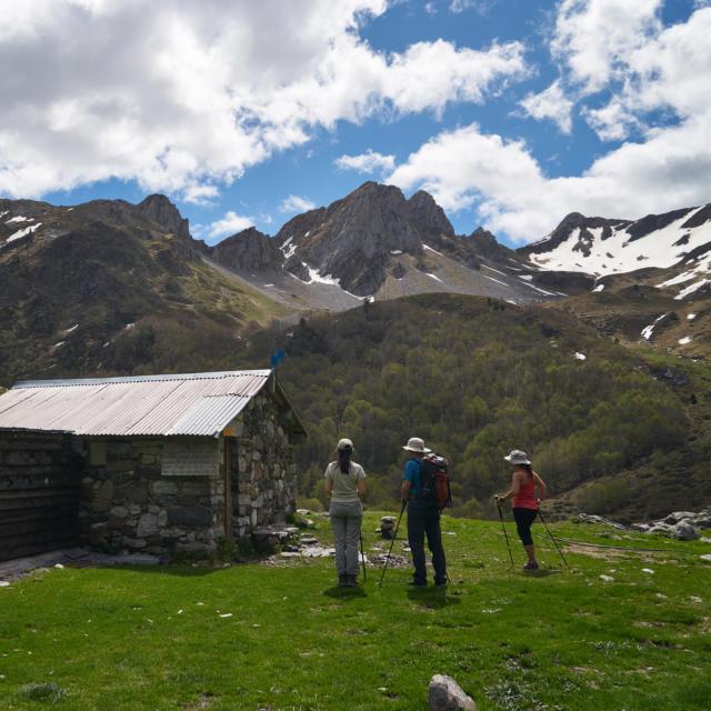 Cabaña de montaña en Ansabere