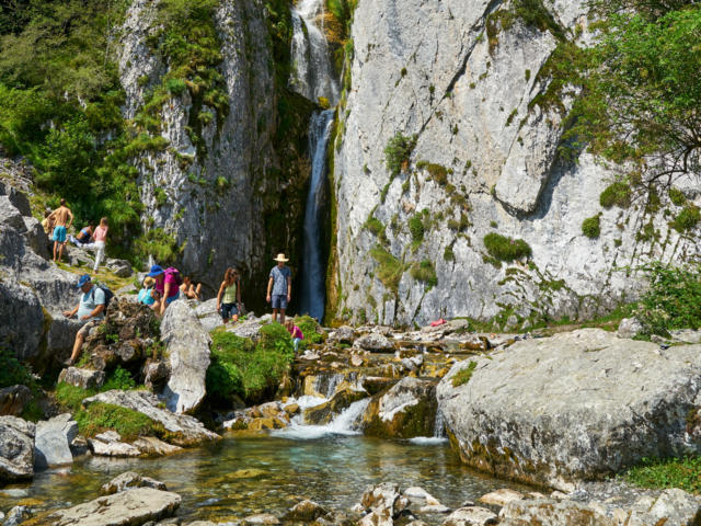 Cascade du plateau de Sanchèse