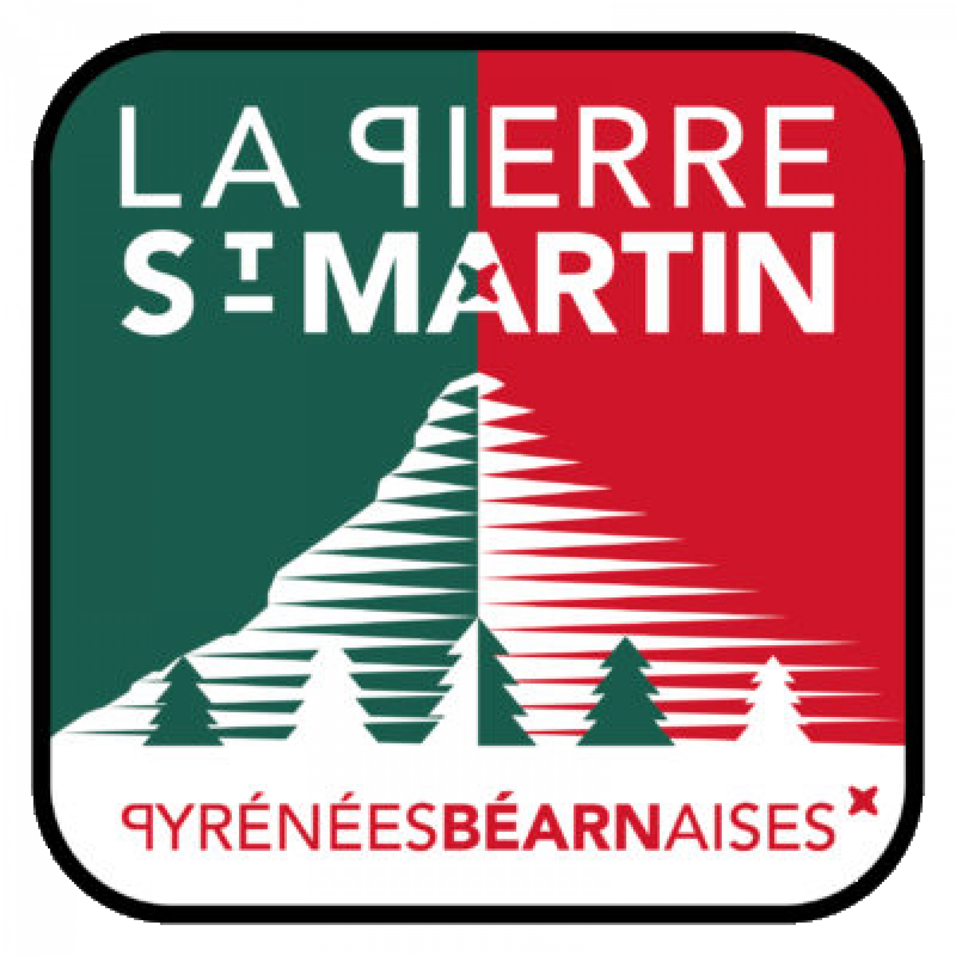 Logo officiel de La Pierre Saint-Martin
