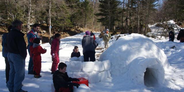 Construyendo iglús