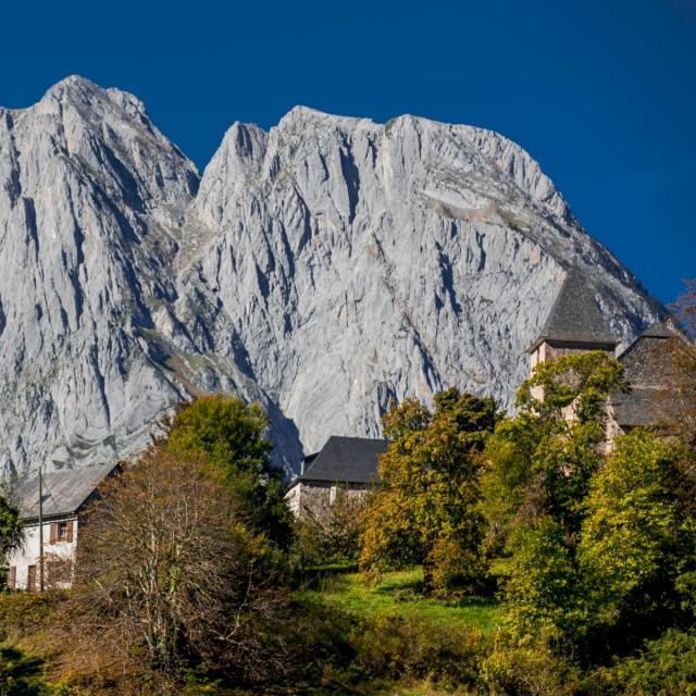 Lescun, l'un des plus beau et typique des Pyrénées (Béarn)