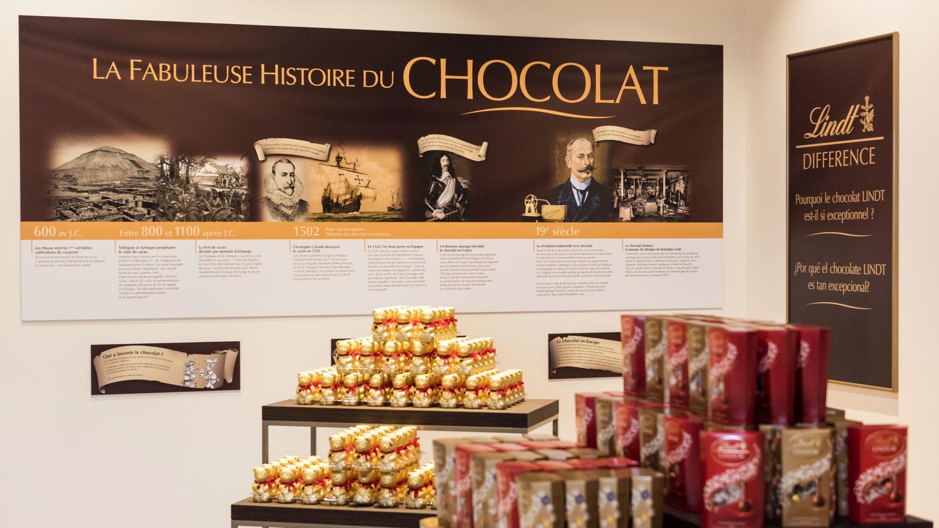 Tienda de la chocolatería Lindt en Oloron Santa-María