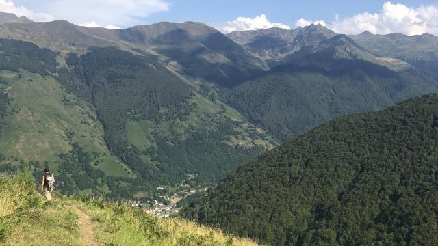 Randonnée sur les sentiers des Pyrénées Béarnaises