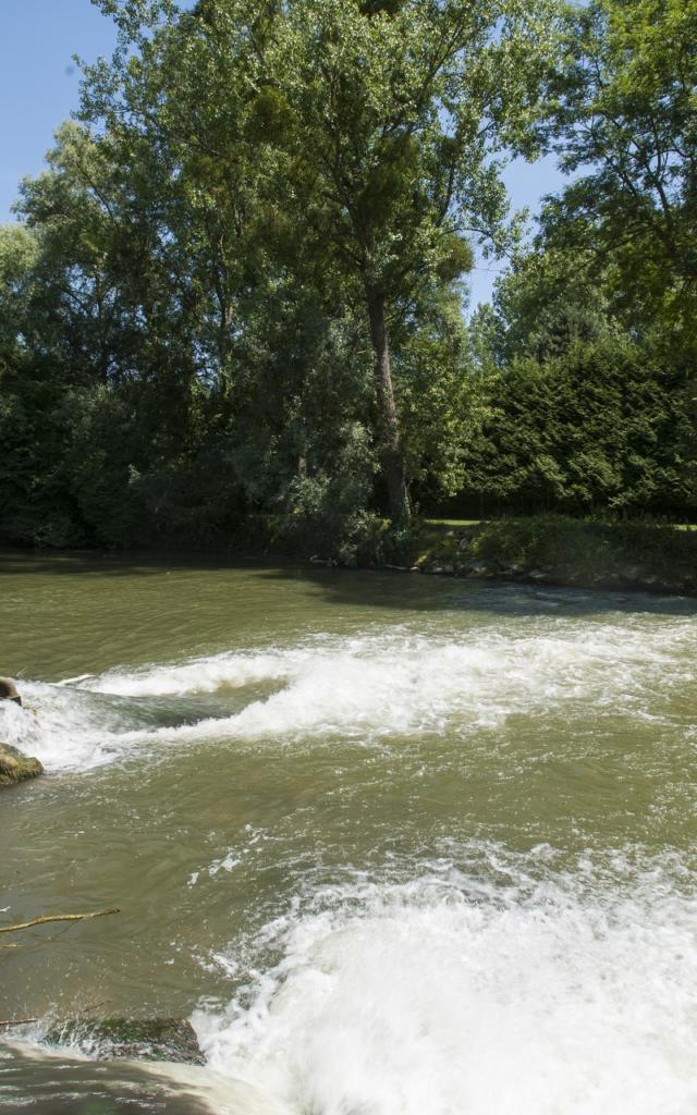 Alaincourt Cascade De L'oise à La Rayere