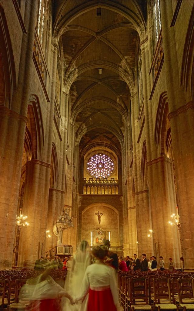 Mariage à la cathédrale de Rodez
