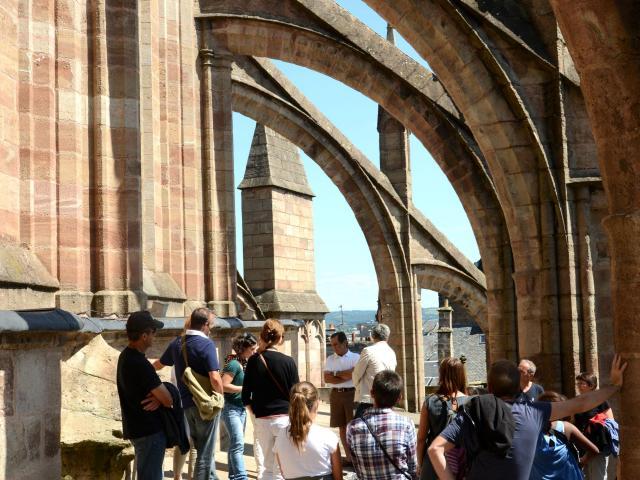 Visite guidée des terrasses de la cathédrale de Rodez