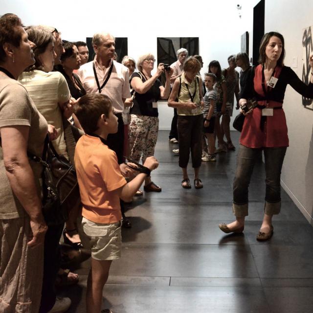 Visite guidée au musée Soulages de Rodez