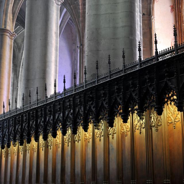 Lumière intérieure de la cathédrale de Rodez