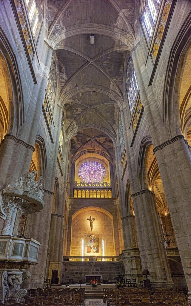 Intérieur de la Cathédrale de Rodez