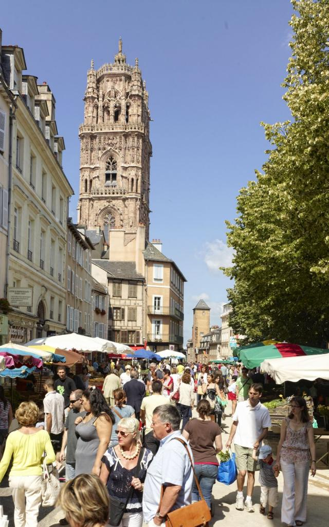 Marché Place de la Cité à Rodez