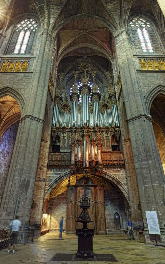 Orgue de la cathédrale Notre-Dame de Rodez