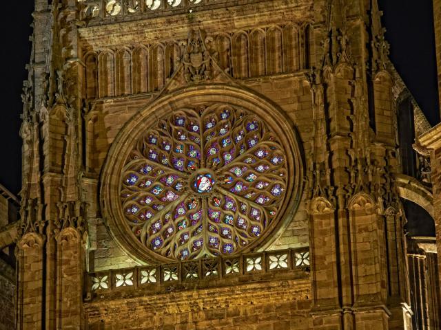 Rose de la Cathedrale de Rodez