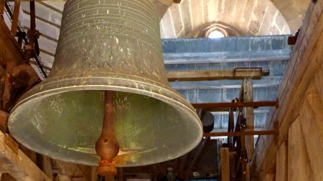 Vue sur les cloches de la cathédrale de Rodez