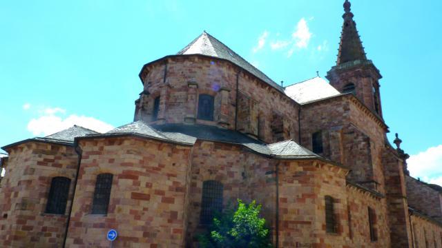 Eglise de grès rose Saint-Amans à Rodez