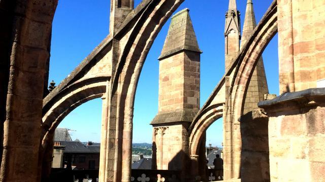 Les planètes de la cathédrale de Rodez