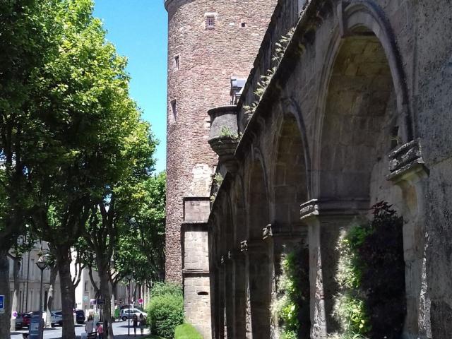 Rempart du Palais Episcopal à Rodez
