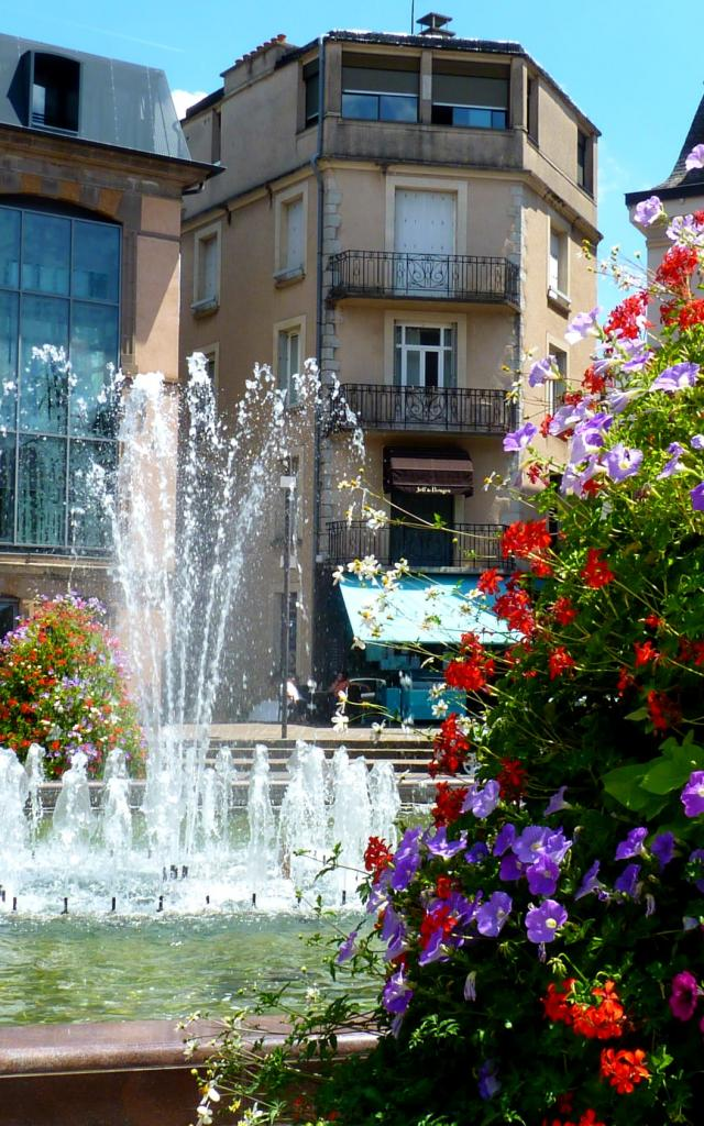 Place de la mairie à Rodez