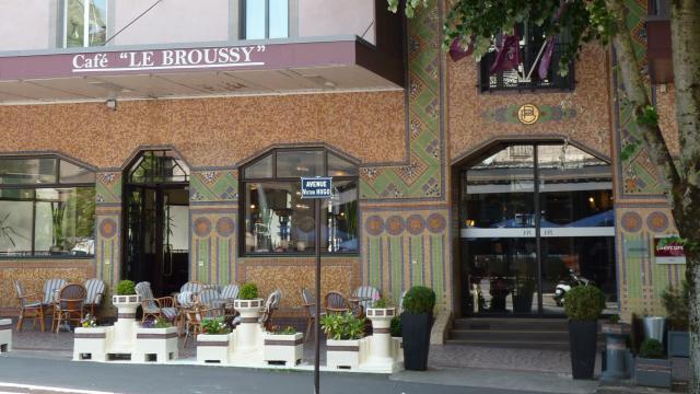 Café Art déco Broussy à Rodez