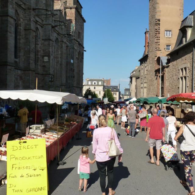 Marché de Rodez Rue du Terral