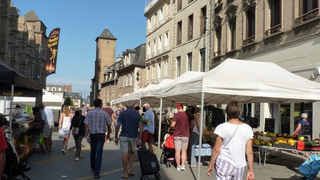 Marché hebdomadaire de Rodez
