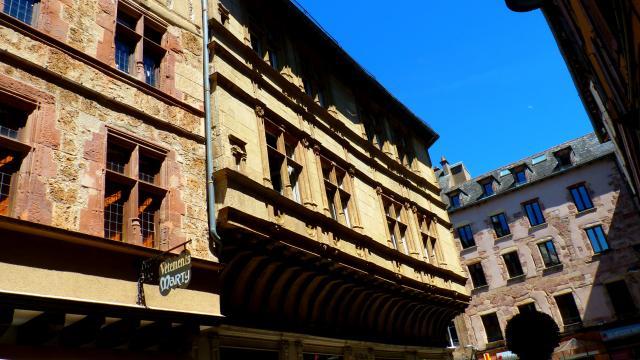 Maison dite d'Armagnac, rue d'Armagnac à Rodez