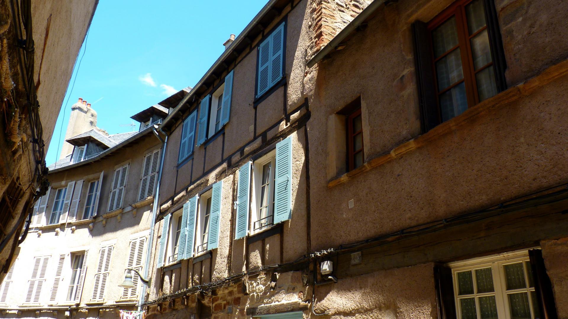 Rue de Rodez dans le quartier des Embergues