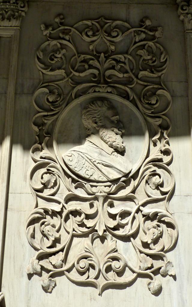 Décor de la Maison dite d'Armagnac à Rodez