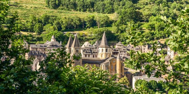Conques, un Plus Beau Village de France