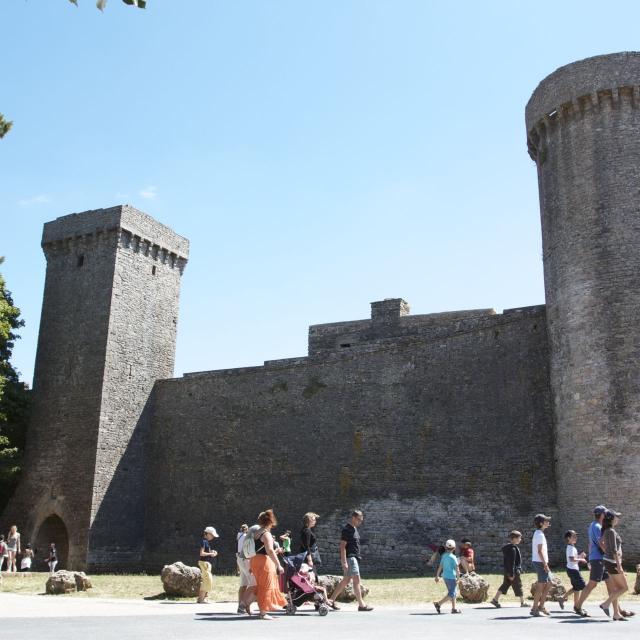 Site Templier de La Couvertoirade, en Aveyron