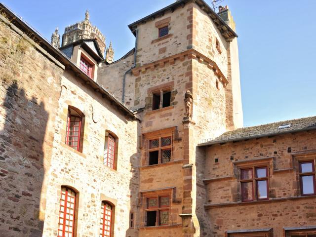 Maison de Benoit et cathédrale de Rodez