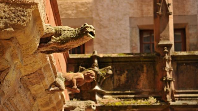 Gargouilles de la maison de Benoit à Rodez