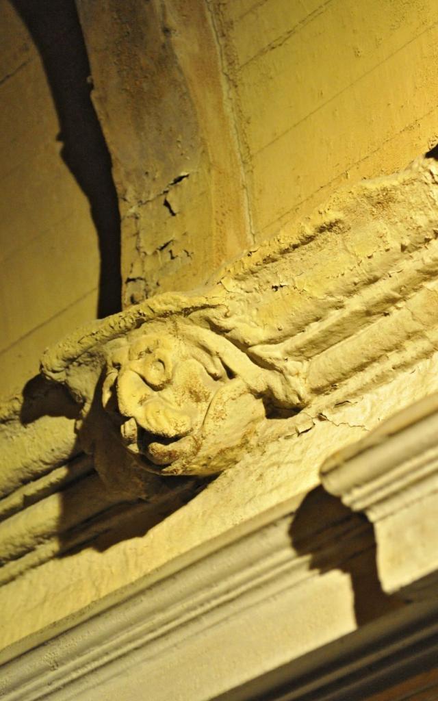Décors sculptés de la maison dite d'Armagnac