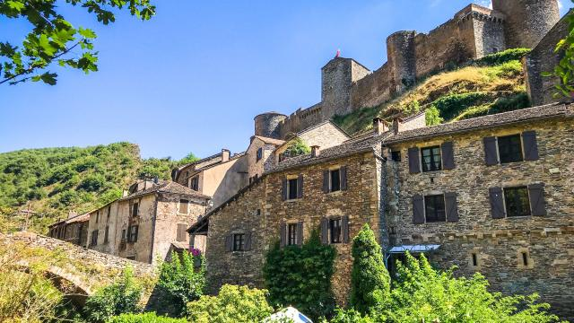 Brousse Le Chateau, un Plus Beau Village de France