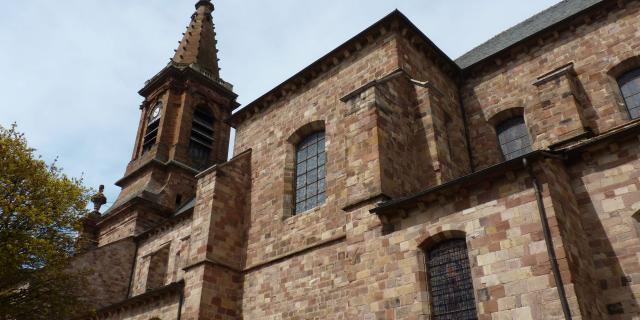 Clocher de l'église Saint-Amans de Rodez