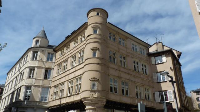 Maison de l'Annonciation en centre-ville de Rodez