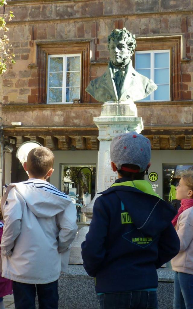 Visite guidée Le Rodez des Petits Explorateurs