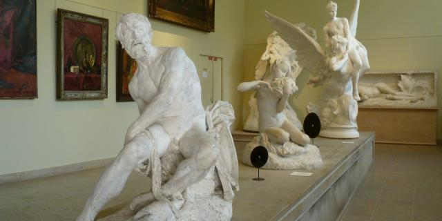 Sculptures du musée Denys-Puech