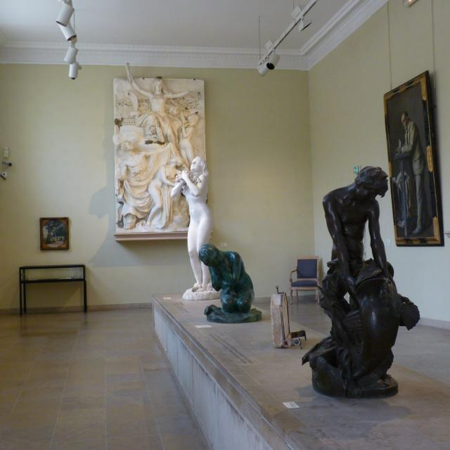 Salle du musée Denys-Puech