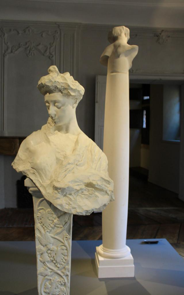Portrait de Madame Rodin au musée Fenaille de Rodez