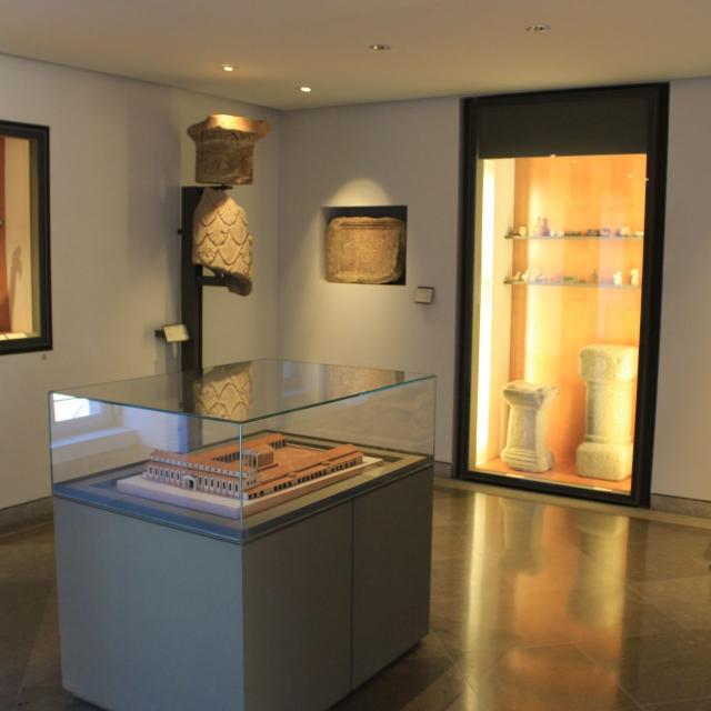 Maquette de Rodez au musée Fenaille