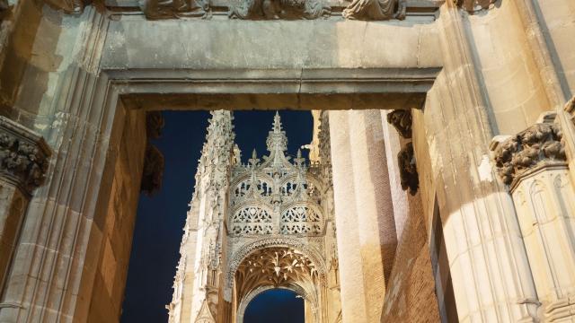 Escalier de la cathédrale d'Albi