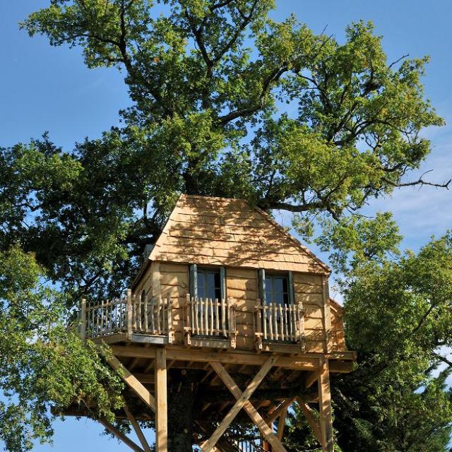 Cabane dans les arbres du Château de Labro