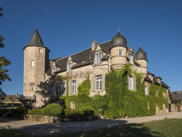 Vue sur le Château de Labro
