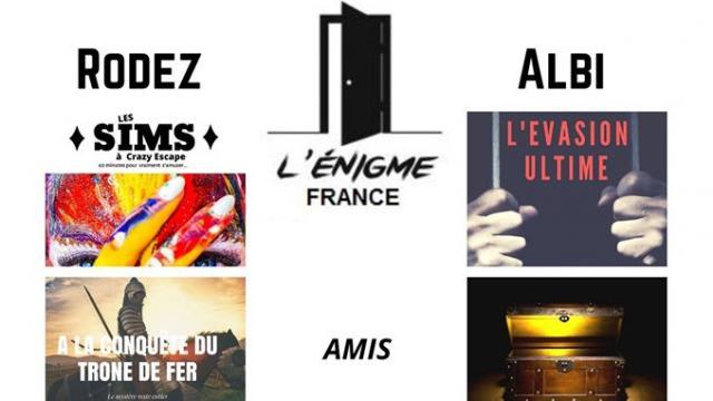 L'Enigme France - Rodez