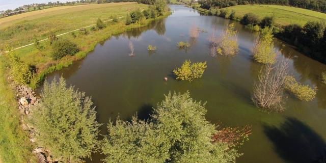 Lac de la Brienne à Luc-la-Primaube