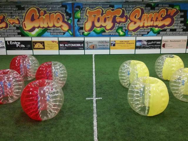 Bubble foot au Cinq Foot Salle