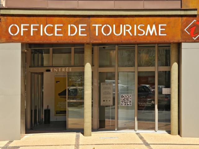 Entrée de l'office de tourisme Rodez Agglomération