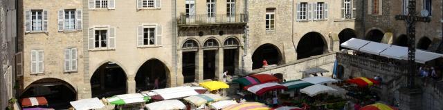 Marché de Villefranche de Rouergue